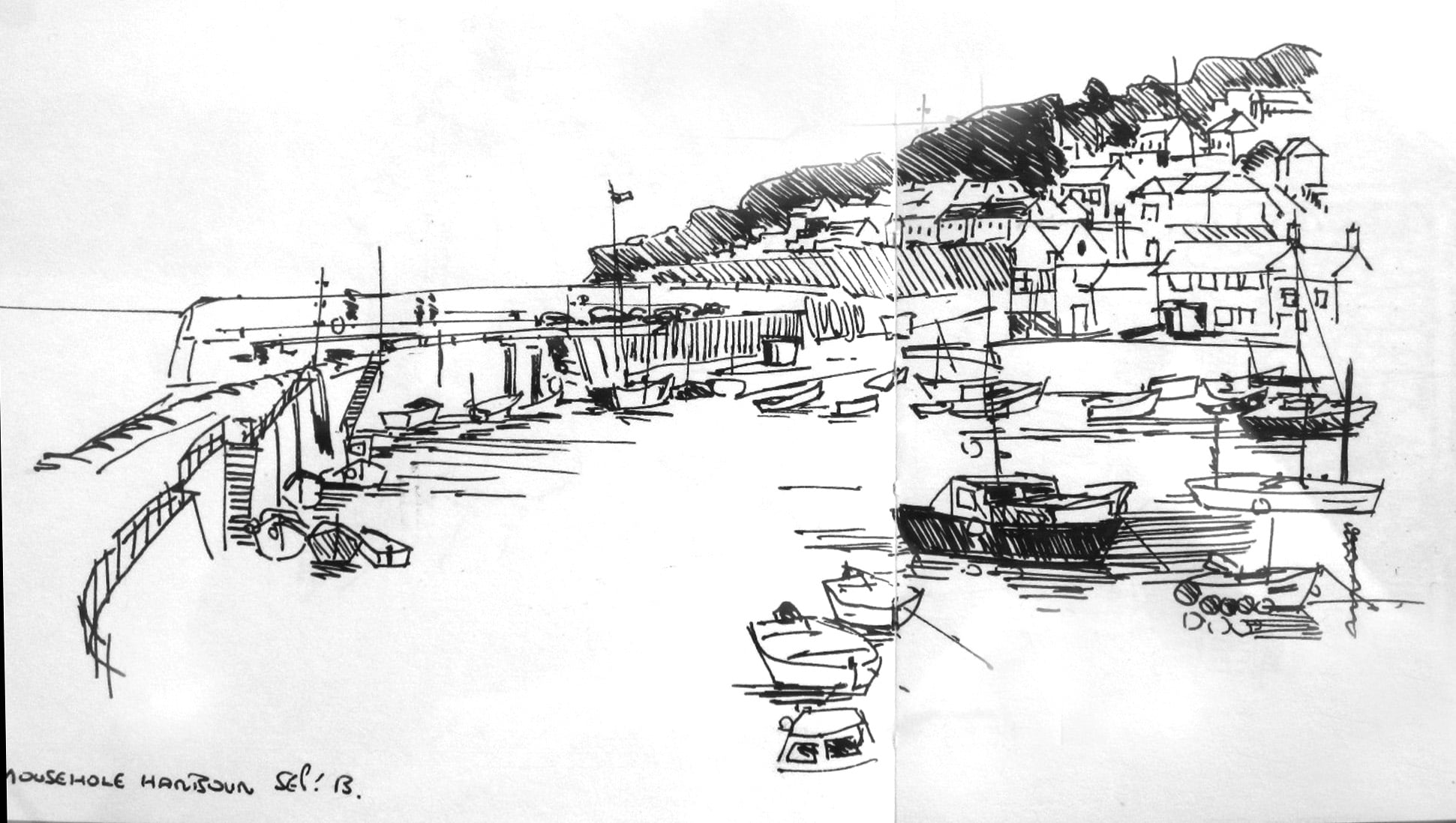 Harbour at Mousehole