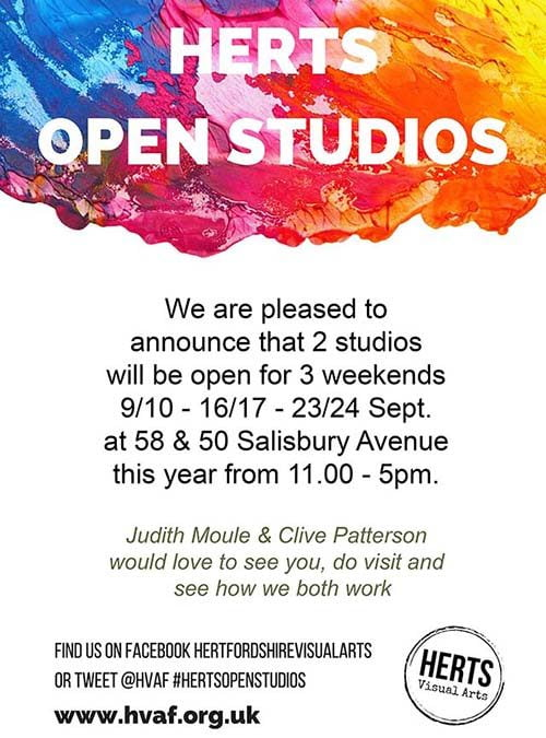 Open Studios in St Albans this September