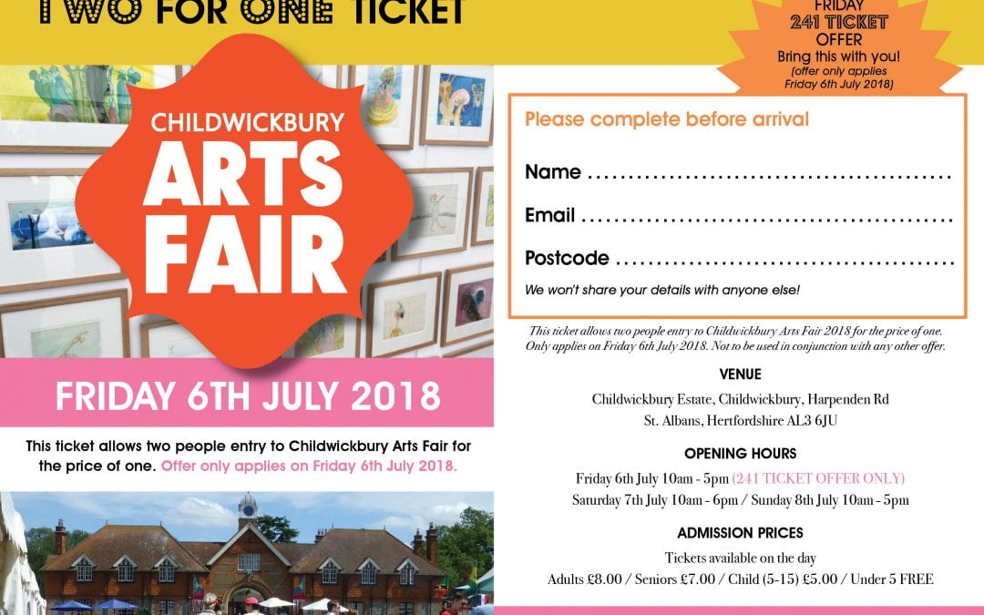 Childwickbury Arts Fair –  2018