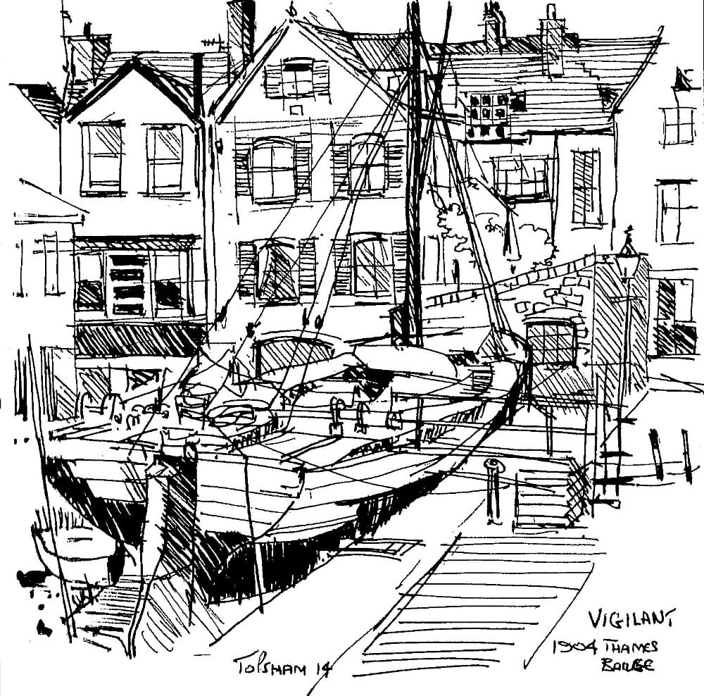 The Vigilant Sailing Barge