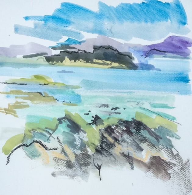 Across the sound – Iona