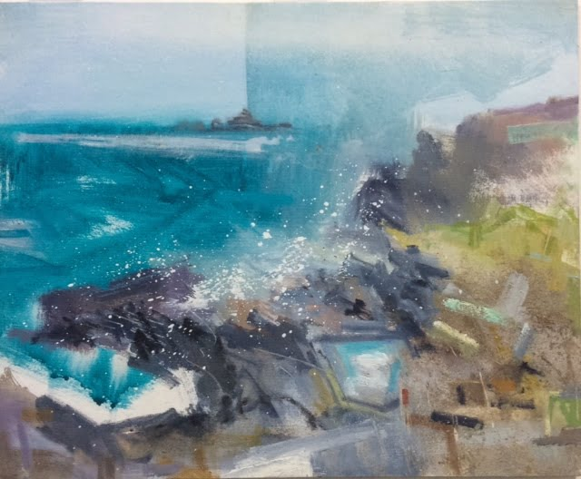 Stormy Seas – Cape Cornwall (Sold)
